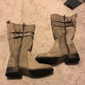 Matisse  wide and wide calf boot -barely worn